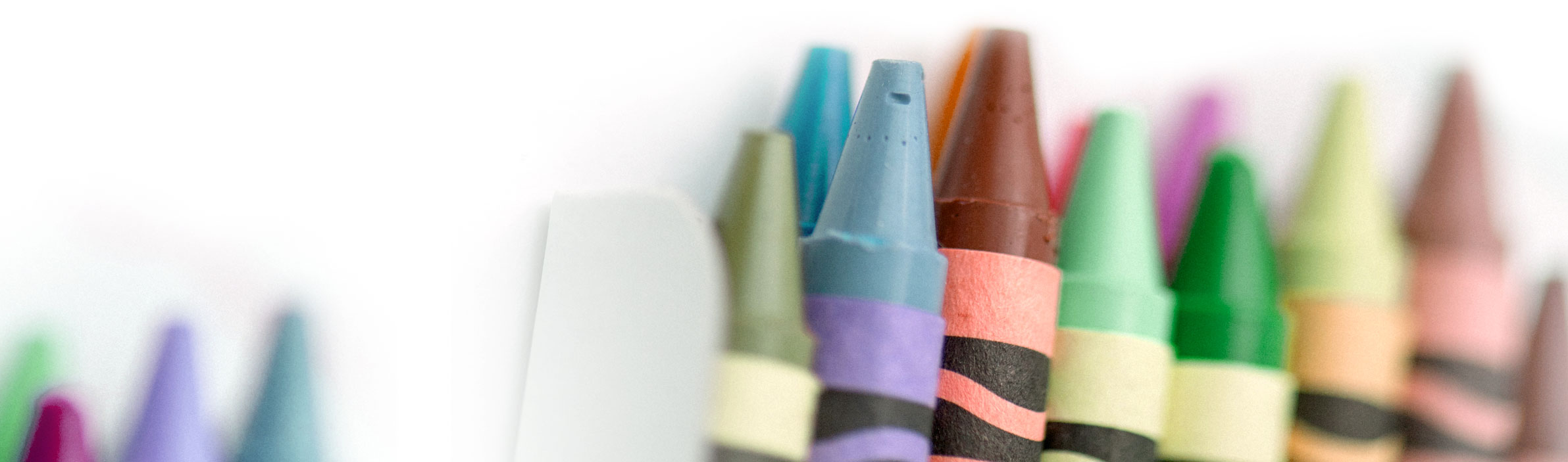 Crayons In Nursery School